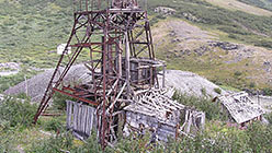 Копер и здание подъемной машины. 2005
