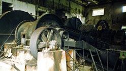 Мельницы измельчения руды. 1998 г