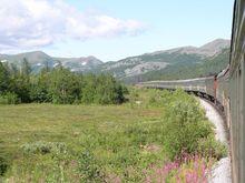 Скорый поезд из Москвы. 2004