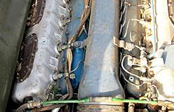 Моторное отделение Т-90
