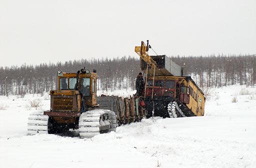 На ручье Вылью. Апрель 2012