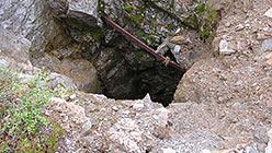 Недостроенный ствол шахты Капитальная. 2005