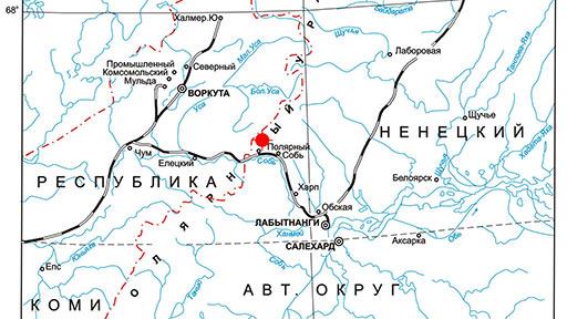 Обзорная карта ГТ «Хрустальная долина»