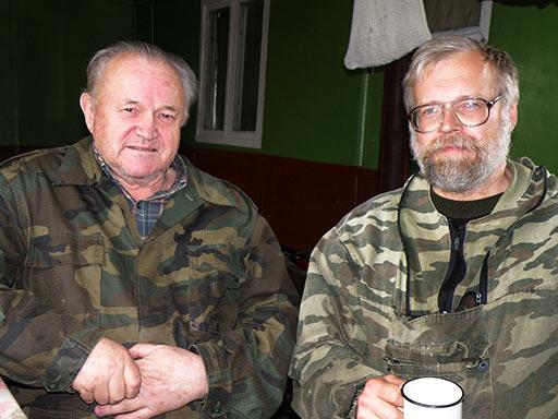 Островский Л.Я. и Перминов И.Г в Полярном 20 августа 2012