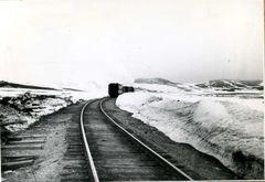 Поезд со 106-го отправился на Лабытнанги. 1961 г.