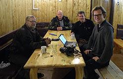 Переговоры с зарубежными гостями. Гостиница базы «Перевал». Ноябрь 2012