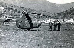 Подбаза ЦУП на Харбейском поселке. 1961