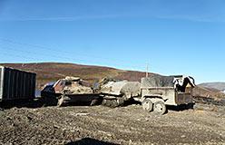 Поддержание в рабочем состоянии последних тягачей-транспортеров. Сентябрь 2012