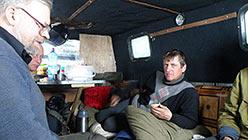 Прием пищи происходил в будке ГАЗ-34039