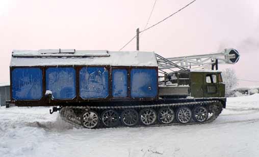 АТС-59 с грузом Boart Longyear
