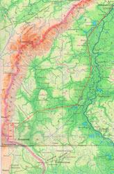 Карта Северо-Сосьвинская