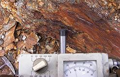 Радиометрия в старой канаве. ПУ. 2008