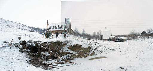 Раскопали подземный ход на горнолыжке. 17 ноября 2012