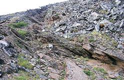 Рудное тело вскрытое по простиранию. 2008