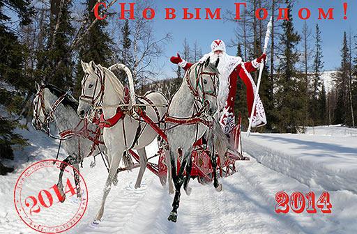 Тройка несется по Элькошору, где я работал в 1987-88 и 2010 гг. (с) Перминов И.Г.