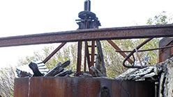 Сгуститель шламов фабрики. Харбейская ООФ. 18.09.2014