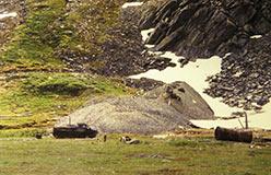 Штольня месторождения Подснежное. 1997