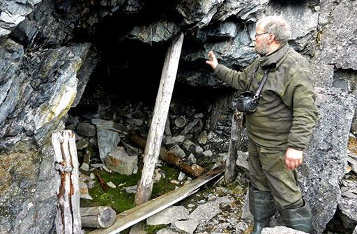 Штольня №3 погашена при завершении эксплуатационных работ в блоке по жиле Ветвистая