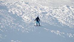 Сноубордист на Перевале 15 марта 2014