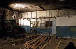 Строительство в помещении бывшей ДЭС поселка. Ноябрь 2012