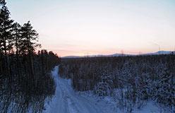 Северный Урал в районе г.Отортен