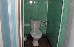 Теремок - гостиница горнолыжки. Один из туалетов
