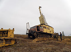 УКБ-3СТ-Э установлен на точку бурения