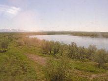 Уса у ж.д. моста перед Елецкой. 24.06.06