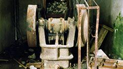 Входная щековая дробилка руды