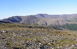 Вид на Харбейское рудное поле. 2008