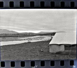 Палатки под Янаслором. 1987