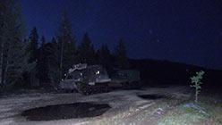 Заночевали на поляне у устья Восточного Нырдвоменшора 11.08.2014