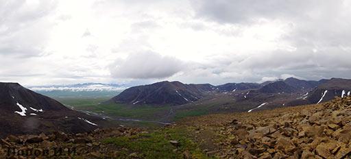 Западный угол Собь-Райизского участка природного парка. Фото Попова И.И.