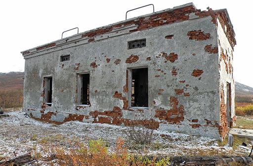 Здание подстанции Харбей