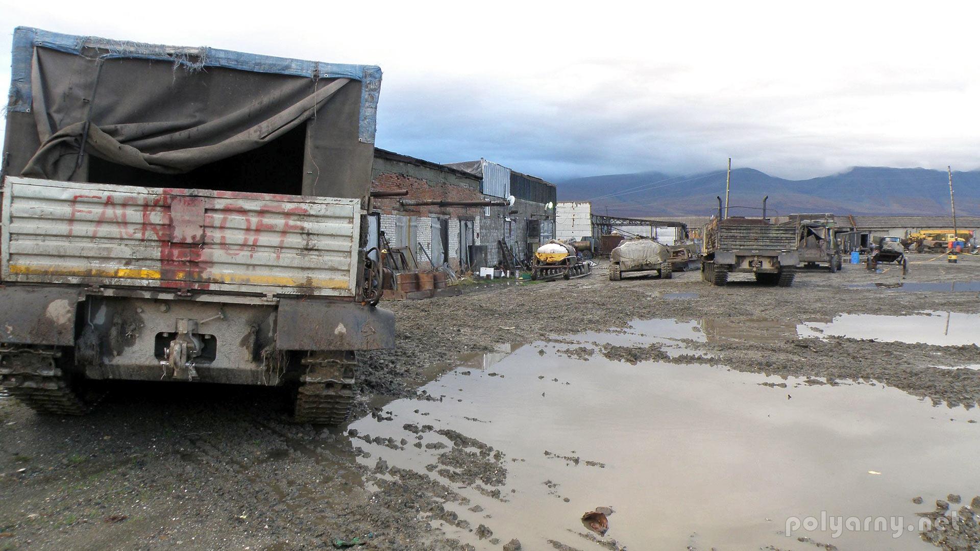 Жизнь на поселке закручена вокруг дизельной