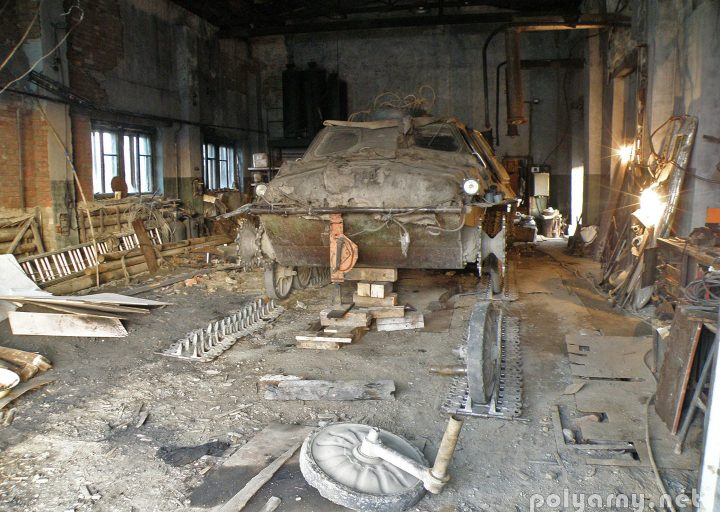 ГТ-Т на ремонте подвески