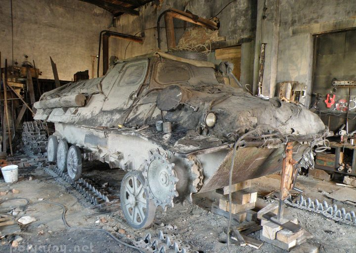 Идет ремонт подвески ГТ-Т