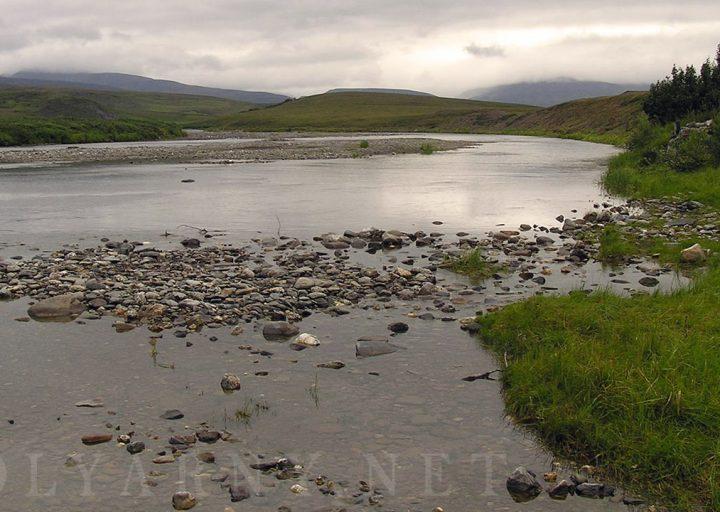 Начало сплава 33 км от базы Перевал