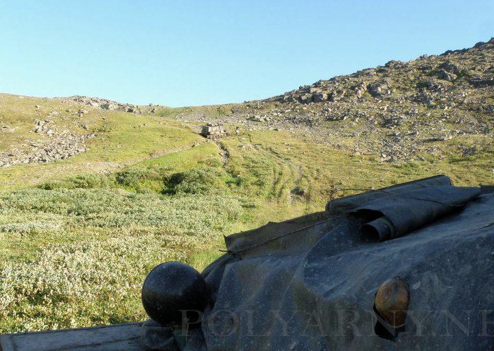 ГАЗон сорвался с Хараматолоуского перевала