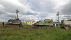 На станции «Полярный Урал»