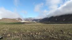 Хойлинская долина под перевалом с Азии в Европу