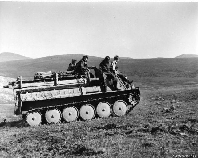 ГАЗон был приписан к отряду региональных работ, которым. командовал В. А. Душин. Отряд работал на Придорожном и Харбейском участках